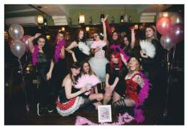 Kairi's Burlesque hen party