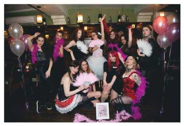 Kairi's Burlesque hen party