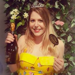 Champagne is the answer , who cares about the question :P